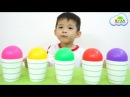 Learn Colors with Baby and Balls Surprise Cups, Songs Finger Family and Nursery Rhymes for Kids