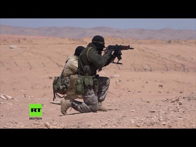 ISIS Hunters Syrische Freiwilligen-Einheit jagt Terroristen mitten in der Wüste