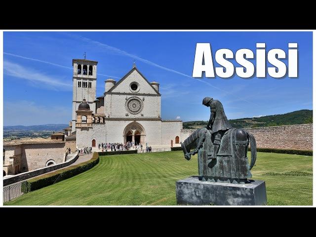 Италия: город Ассизи (Assisi)