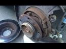Замена задних тормозных дисков и колодок на BMW 3 e46 m43
