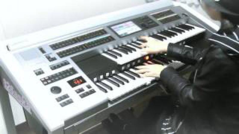 【カノン ロック】 エレクトーン演奏 CANON ROCK Electone performance