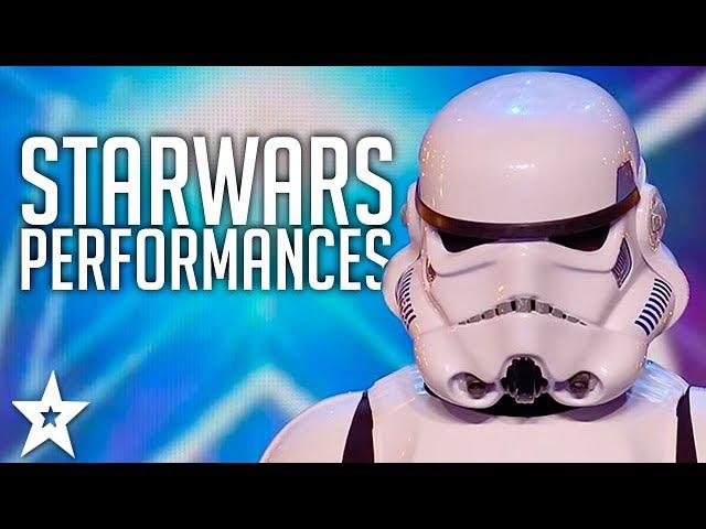 All STARWARS Performances | Got Talent Global