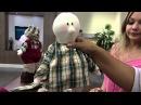 Mulher 07/11/2014 - Boneco Papai Noel por Silvia Torres Parte 2