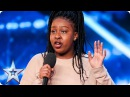You're going to love Sarah Ikumu as much as Simon! Auditions Week 1 Britain's Got Talent 2017