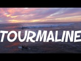 THE PINKEST SUNSET AT TOURMALINE (Surfing Drone Footage)