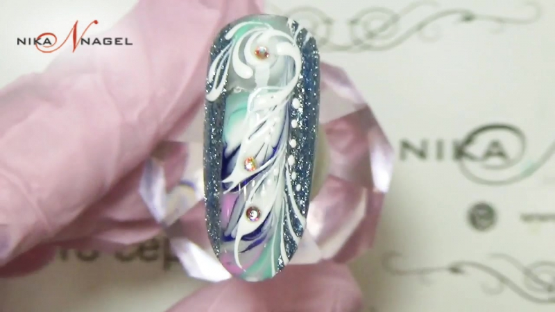 Зимнее чудо во всей красе! Дизайн ногтей