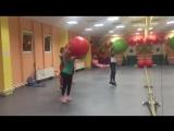 Fit ball под руководством тренера групповых занятий Татьяны Воробьевой, клуб