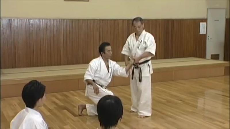 Seienchin _ Goju ryu _ Kata no ura bunkai _ Yoshio Kuba