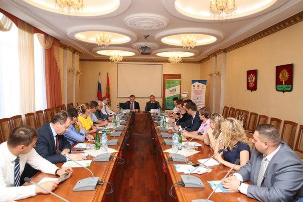 Встреча директора департамента развития малого и среднего предпринимат