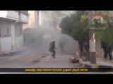 Сирия-закидали гранатами.