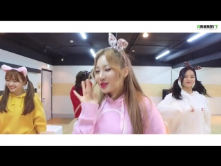 [VK][dance practice Cute ver.] Girls Day(걸스데이)_Ill be yours
