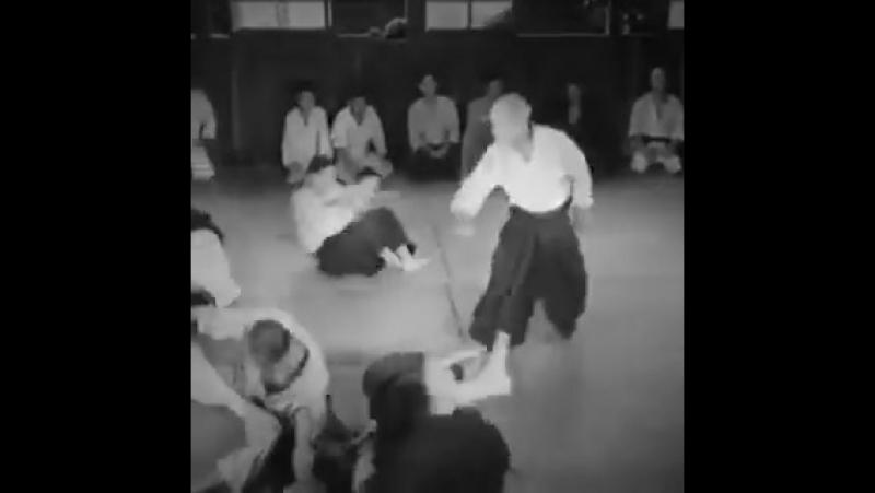 Morihei Ueshiba founder of Aikido