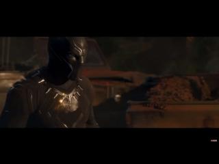 Чёрная пантера 1-ый тизер-трейлер Nightfoxstudio RUS