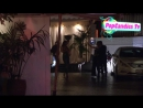 Exclusive! Keanu Reeves Mystery Trans Woman Jamie Clayton Kiss on a Hot Summer Night departing Chateau Marmont WeHo