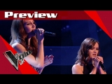 PREVIEW Lucy Kane vs. Nadine McGhee - Time After Time (The Voice UK 2017)