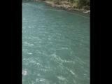 Тарзанка через реку в Абхазии)
