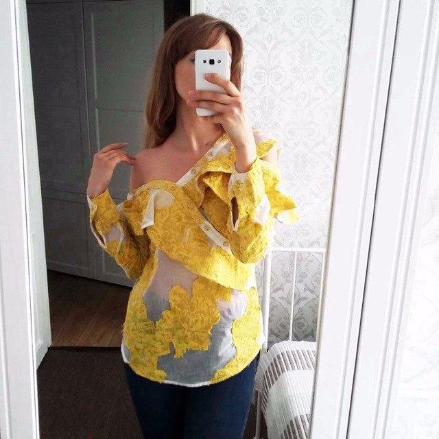 Эффектная блуза
