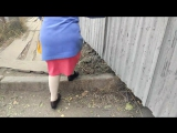 Тротуарный стыд на улице Труда