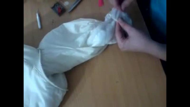 Ремонт куртки укорачивание рукавов