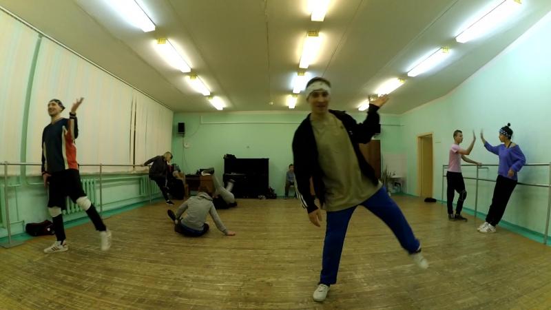 Freestyle 10 min Kirillius MacSam Чу (Electric boogie, Poppin', Break dance)