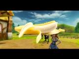 банан и барби