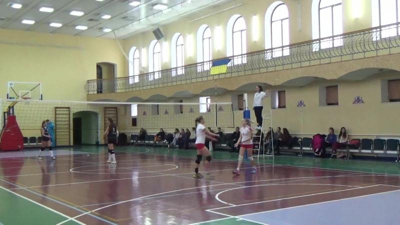 Чорна/Мельник - Ярмолюк/Нагорна ЧУ віхід в фінал 2 : 0.