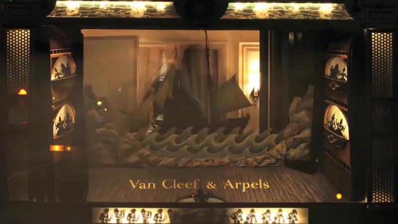 Кинетические витрины Van Cleef Arpels