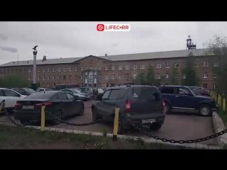 Первое видео с места ЧП на шахте «Интинская» в Коми