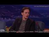 [SUBS] Bill Skarsgard Walked Through Hollywood In Clown Face - CONAN on TBS