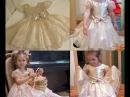 Как просто сшить нарядное платье на девочку Для начинающих