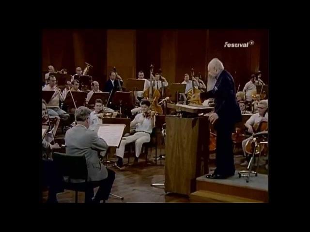 Stokowski rehearsal in German - Generalprobe in Deutsch - Bach Passacaglia