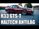 Modified Nissan Skyline R33 GTST 0-60 Acceleration JDM Review Haltech Anti-lag Goodness