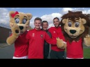 Introducing the Pride of Salford.. Meet our new mascots, Billy and Babs!