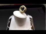 Золотое кольцо-пружина Булгари