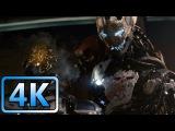 First Fight vs Ultron  Avengers Age of Ultron (2015)  4K ULTRA HD