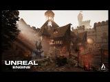 Speed Level Design - Medieval Center - Unreal Engine 4