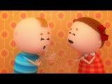Аркадий Паровозов спешит на помощь - Сквозняк - серия 136 - мультфильмы для детей
