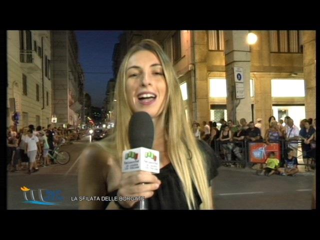 Palio del Golfo della Spezia 2017 LA SFILATA DELLE BORGATE