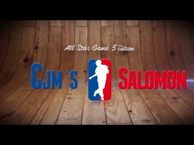 CJM'S vs SALOMON   I love this dance all star game 2013