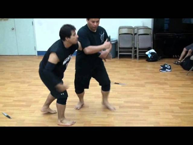 Silat Suffian Bela Diri - Knife Entry and Joint Dislocations