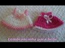 Diy Souvenir Lembrancinha em Crochê Nº 1 para bebê Vestidinho Graça Tristão
