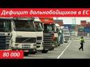 Дефицит дальнобойщиков в Европе. Миф или реальность