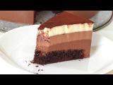 Бисквитно-муссовый торт
