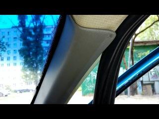 Opel Kadett E Уплотнитель двери с Газели.