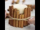Как сделать свечи с ароматом корицы. Обожаю этот запах! БЕРИ И ДЕЛАЙ ↩︎