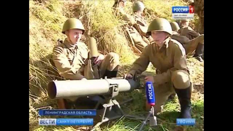 На Невском пятачке прошла масштабная реконструкция трагических событий осени 19...