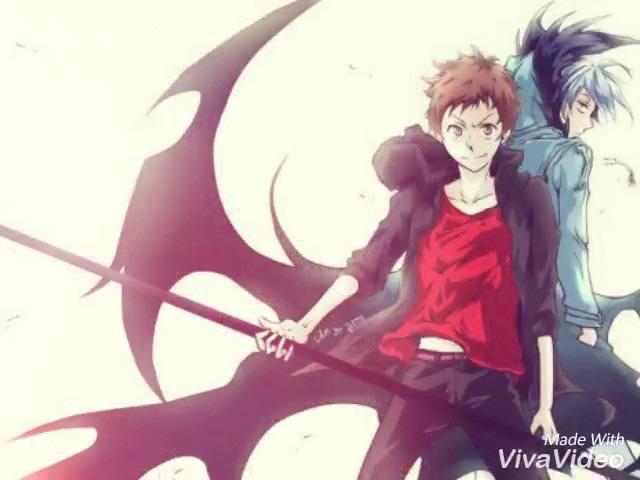 Куро и Махиру - мой вампир