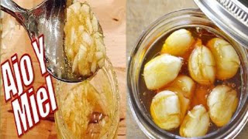 Beneficios de Comer Ajo y Miel en Ayunas por 7 días, Salud Y Belleza Natural