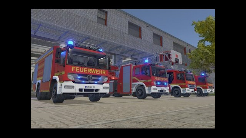 Emergency Call 112 The Fire Fighting Simulation 24hr Gameplay