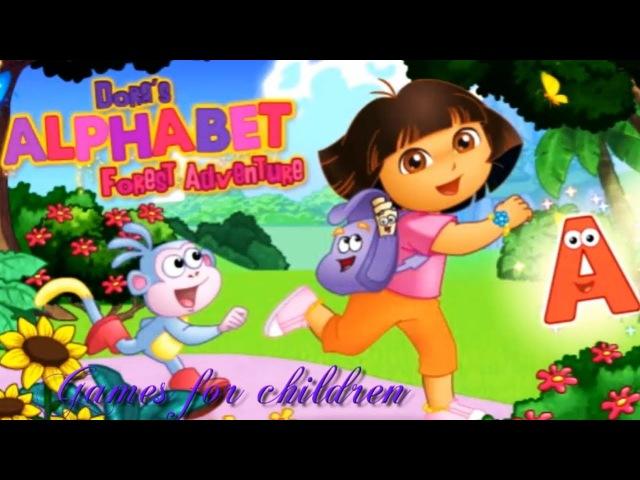Games for kids Dora the Explorer Doras Alphabet Forest Adventure Games for children